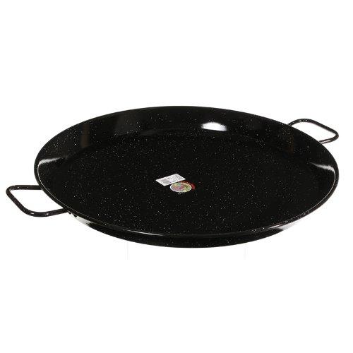 Garcima 26-Inch Enameled Steel Paella Pan, 65cm