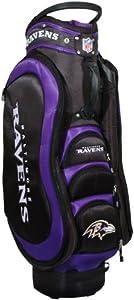 NFL Baltimore Ravens Cart Golf Bag