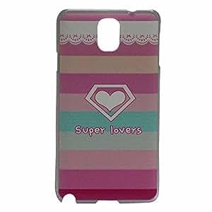 Super Lovers Hard Back Case Cover For Samsung Note 3 N9000