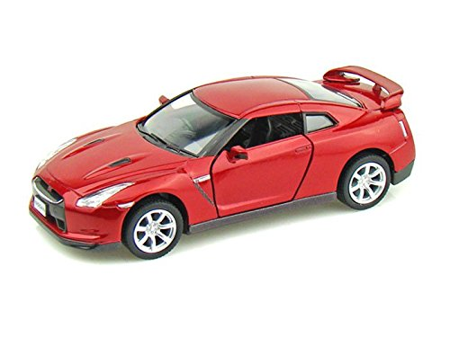 2009 Nissan GT-R R35 1/36 Red - 1