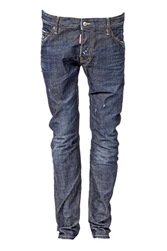 Dsquared² Herren Jeans Slim Leg M.B. JEAN, Farbe: Dunkelblau, Größe: 46 thumbnail