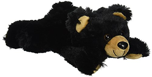 "Purr-Fection Smoky Junior Black Bear 9"" Plush"
