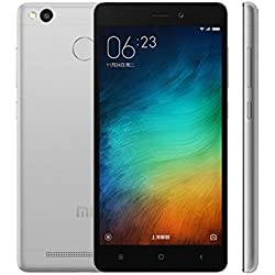 Xiaomi Redmi 3S Dual SIM LTE - 16GB Factory Unlocked Smartphone (Dark Grey)
