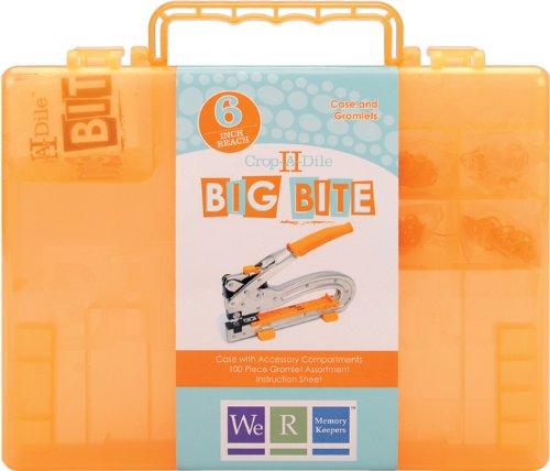 Crop-A-Dile II Big Bite Carrying Case-Orange 1 pcs sku# 631587MA (Big Bite Crop A Dile compare prices)