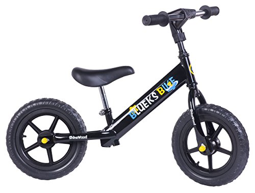 Merax-Childrens-Balance-Bike-3-Colors-Black-No-Pedal-for-Toddler