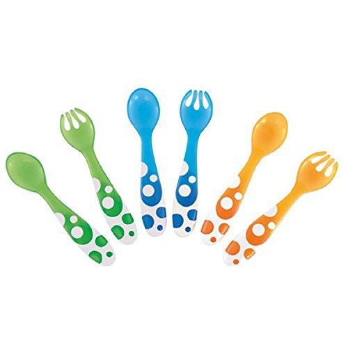Munchkin Multi Forks & Spoons - 6pk - 1