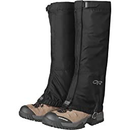 Outdoor Research Men\'s Rocky Mountain High Gaiters, Black, Medium