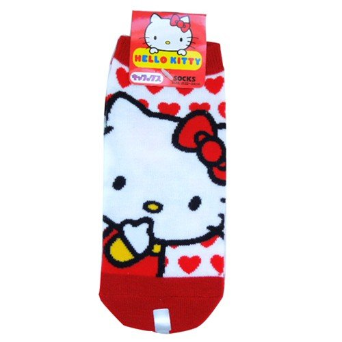 [Hello Kitty] Socks socks socks ladies city heart anime - 1