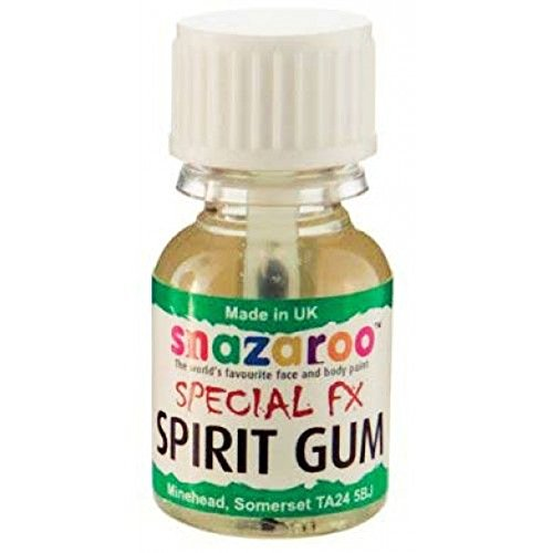 NEW SNAZAROO SPECIAL FX SPIRIT GUM GLUE FOR EFFECTS MAKE UP 10ml