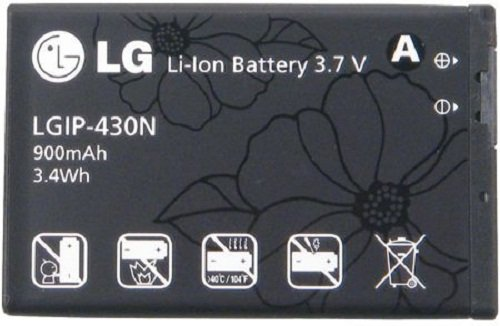 LG IP-430N 900mAh Battery