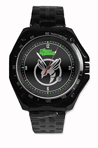 The Green Hornet Logo Snap On Black Watch Stainless - Steel Fit Your Hoodie