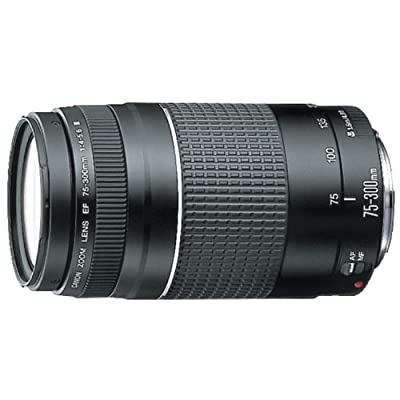Canon EF 75-300mm f/4.0-5.6 III Filter Size 58mm Zoom Lens (Not USM)