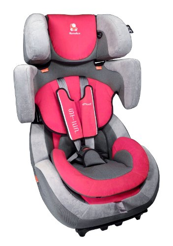 Renolux Step Group 1-2-3 Car Seat  (Red)