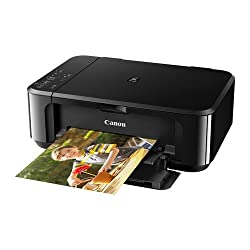 Canon Pixma MG3670 All-in-One Inkjet Printer (Black)