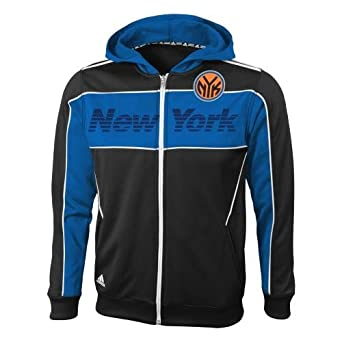 New York Knicks Youth Adidas NBA 2013 The Chosen Few Full Zip Hooded Sweatshirt by adidas