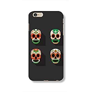 Retro Skull Phone case for Apple iPhone 6s Plus