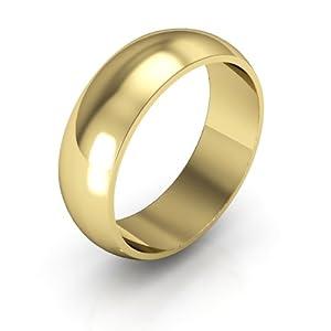14K Yellow Gold Wedding Band - Gay Wedding Band