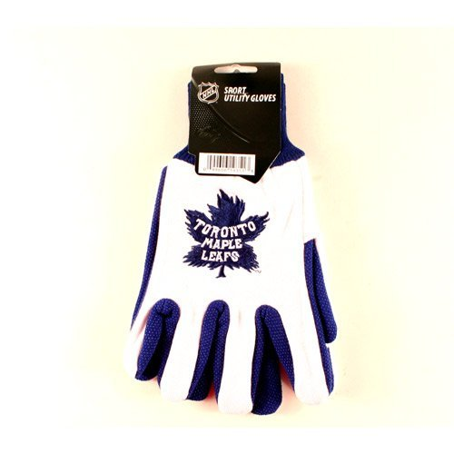 NHL Officially Licensed Toronto Maple Leafs Winter Classic Utility Gloves