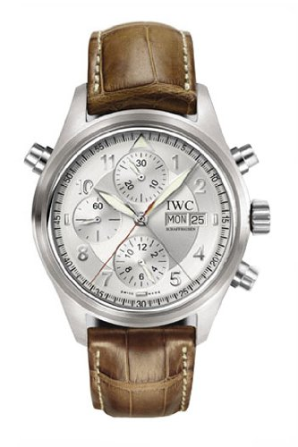 IWC Men's IW371343 Pilot's Double Chrono Spitfire Watch