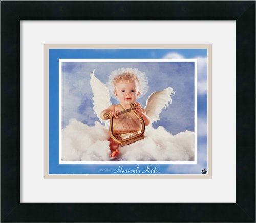 Heavenly Kids - Harp By Tom Arma Framed front-720578