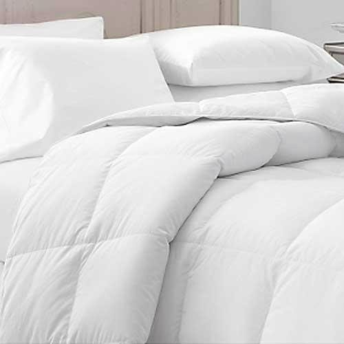 Find Discount Willow Highlands White 45 Oz Twin Size Down/feather Comforter-300 T/c
