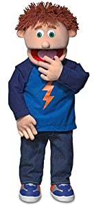 Tommy Peach Professional Puppets Kids Toys with Removable Legs, 30 x 12 x 10 (in.)