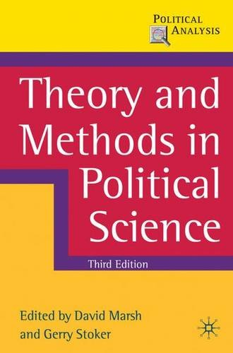 Theory and Methods in Political Science (Political Analysis)