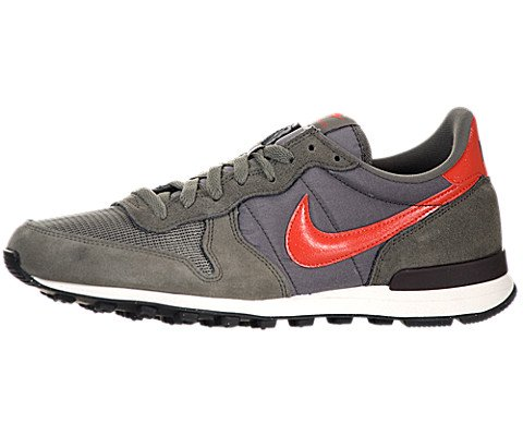 more photos b0cfb fd68a Nike Internationalist Dark Pewter Light Crimson Sail Velvet Brown 10 5 D US