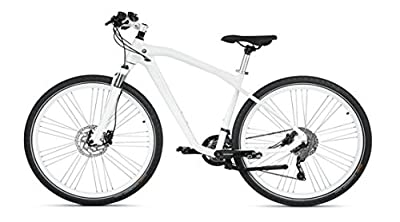 "BMW Genuine Cruise Bike Bicycle Cycle NBG III 28"" Wheel White S 80912412308"