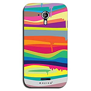 Mozine Color My Wall printed mobile back cover for Micromax canvas magnus a117