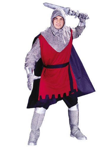 Medieval Knight Mens Adult Costume One Size