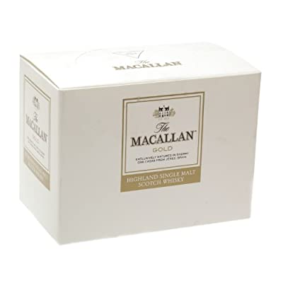 Macallan Gold Single Malt Scotch Whisky 5cl Miniature - 12 Pack from Macallan
