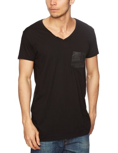 Popissue Stylish Oscar Men's T-Shirt Black X-Small