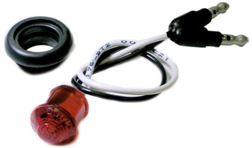 """Peterson Manufacturing 176Kr Red 0.75"""" Led Clearance Light Kit"""