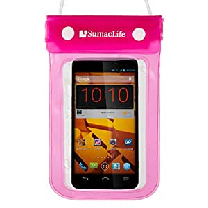 Sumaclife Pink Sumaclife Waterproof Dry Pouch Bag Case
