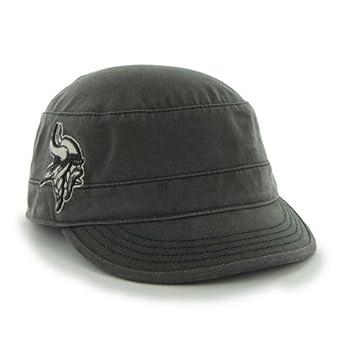 NFL Minnesota Vikings Ladies Honey Creek Cap, Charcoal by