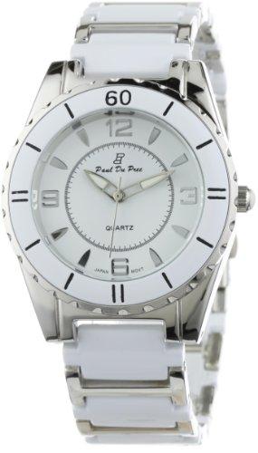 Paul Du Pree Women's PD226025SSDW White Dress Watch
