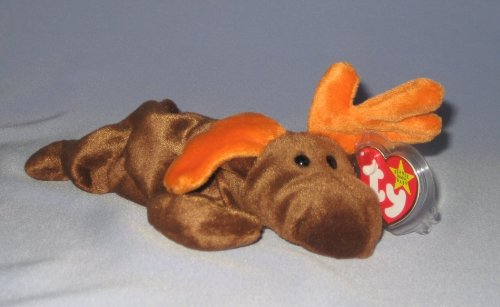 Ty Beanie Babies Chocolate the Moose
