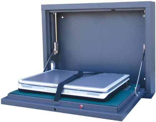 Wall Mount Laptop Safe : Sandusky lee wlap wall mount laptop safe security