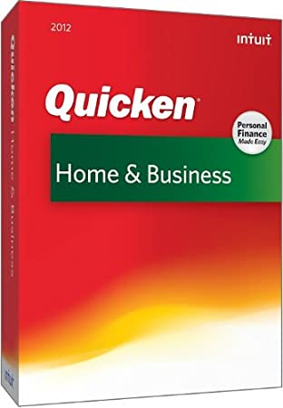 Quicken Home & Business 2012 [OLD VERSION]