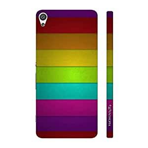 Enthopia Designer Hardshell Case RAINBOW BLAST Back Cover for Sony Xperia X
