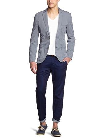 esprit veste de costume ray homme bleu bleu nuit fr m taille fabricant s. Black Bedroom Furniture Sets. Home Design Ideas