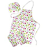 The Little Cook / Child's 4-piece Polka Dot Apron Set