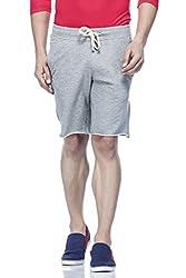 Tinted Men's Cotton Polyester Shorts TJ4201-GREY-M
