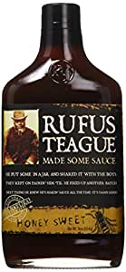 Rufus Teague Honey Sweet BBQ Sauce, 16 oz(454g)