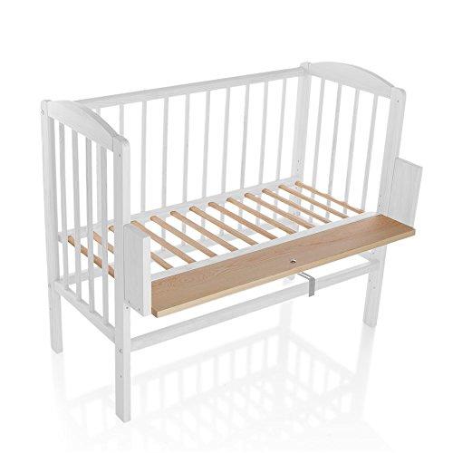Kinderbett-Gitterbett-Beistellbett-Maria-90x40cm-Wei