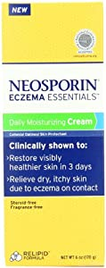 Neosporin Eczema Essentials Daily Moisturizing Cream, 6 Ounce