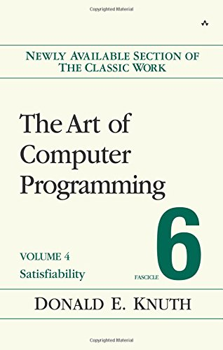 Art of Computer Programming, Volume 4, Fascicle 6, The:Satisfiability