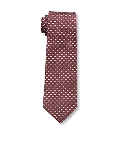 Valentino Men's Martini Tie, Burgandy