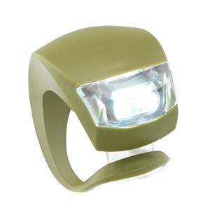 Knog Beetle 2-LED Bicycle Light (Headlight, Dark Khaki)